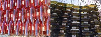 Mise en bouteille en ce début d'année !