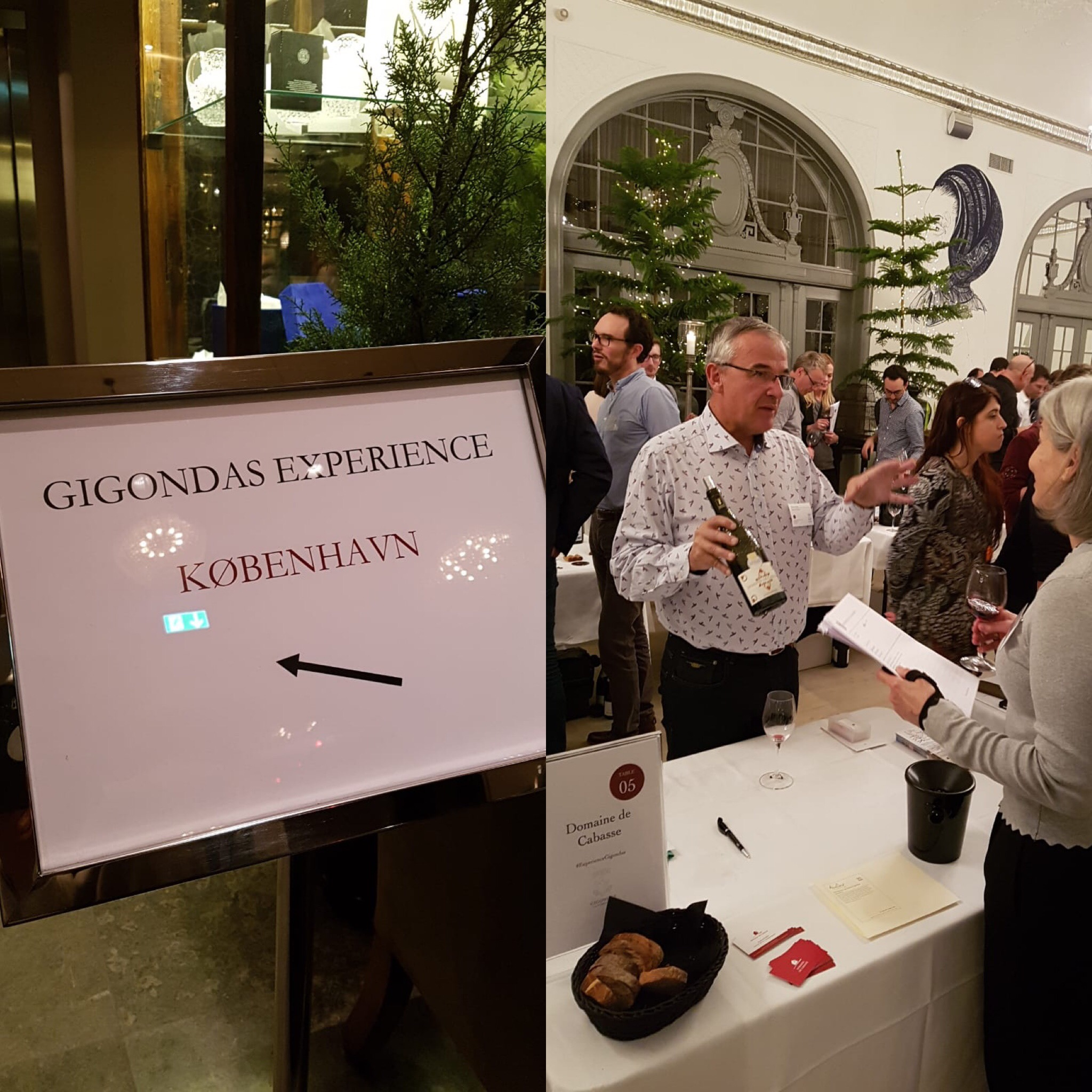 Prestigious operation of the Gigondas appellation in Copenhagen  #Wine