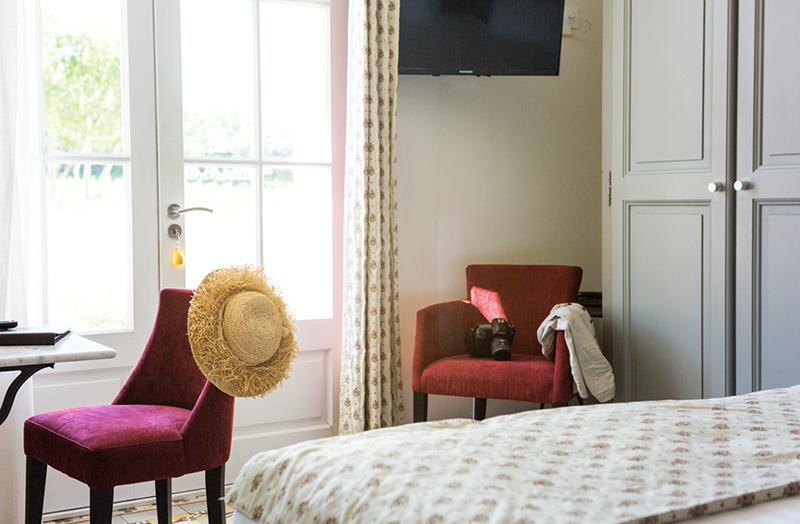 chambre-102-lit-double-king-size - Domaine de Cabasse