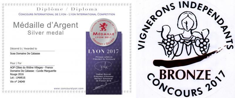 Wines medals
