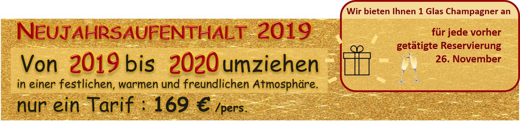 Neujahrsaufenthalt 2019